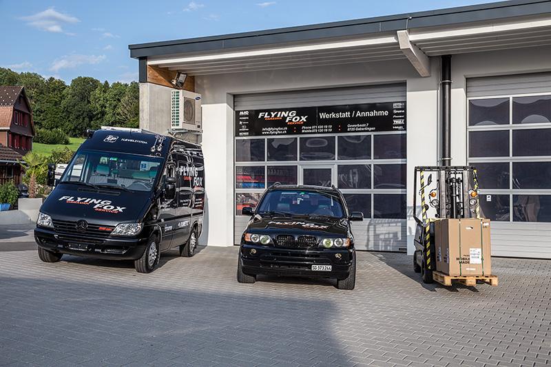 Flyingfox Werkstatt Caravanreparatur
