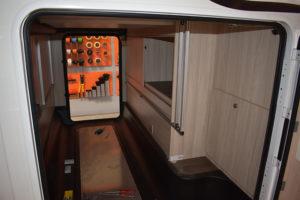 Hundebox im Reisemobil - Konstruktion